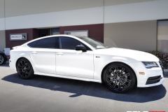 AUDI A5 SATIN WHITE FULL WRAP - Rolotech