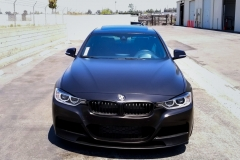 BMW 335I SATIN BLACK FULL WRAP - Rolotech
