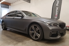 BMW 750i MATTE DARK GRAY FULL WRAP - Rolotech