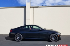 BMW M4 Gloss Storm Gray Full Wrap - Rootech