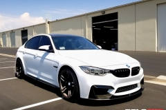 BMW M4 SATIN WHITE FULL WRAP & CERAMIC PRO - Rolotech