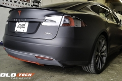 Model S Ludicrous Full Wrap Matte Black