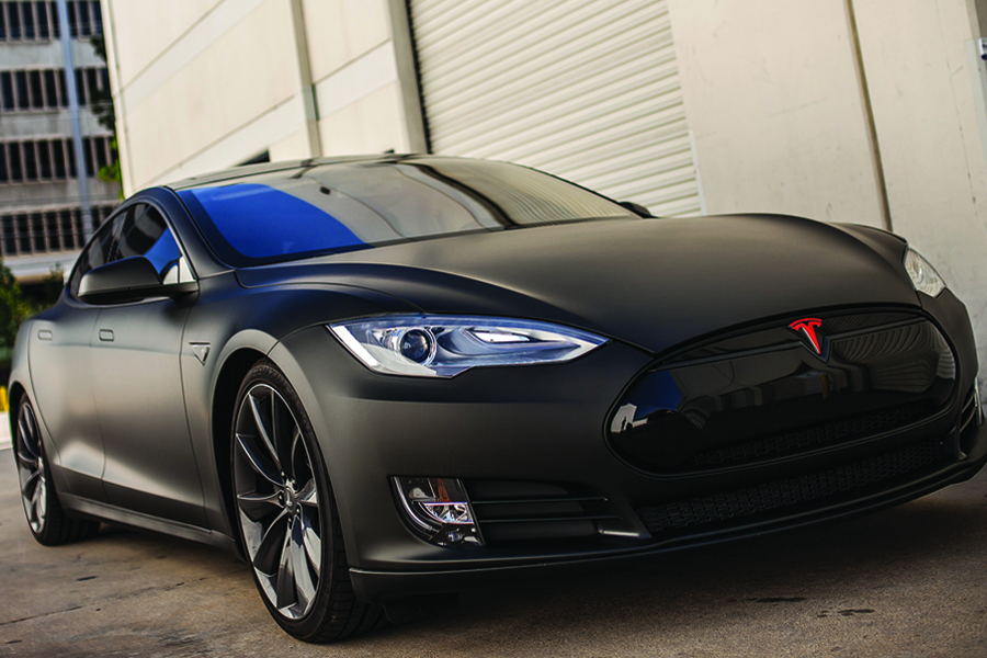 Tesla Chrome Blackout Delete Model S Model X Car Wraps