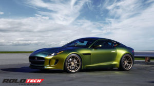 Jaguar F Type Full wrap, fresh spring Avery color flow series Vinyl
