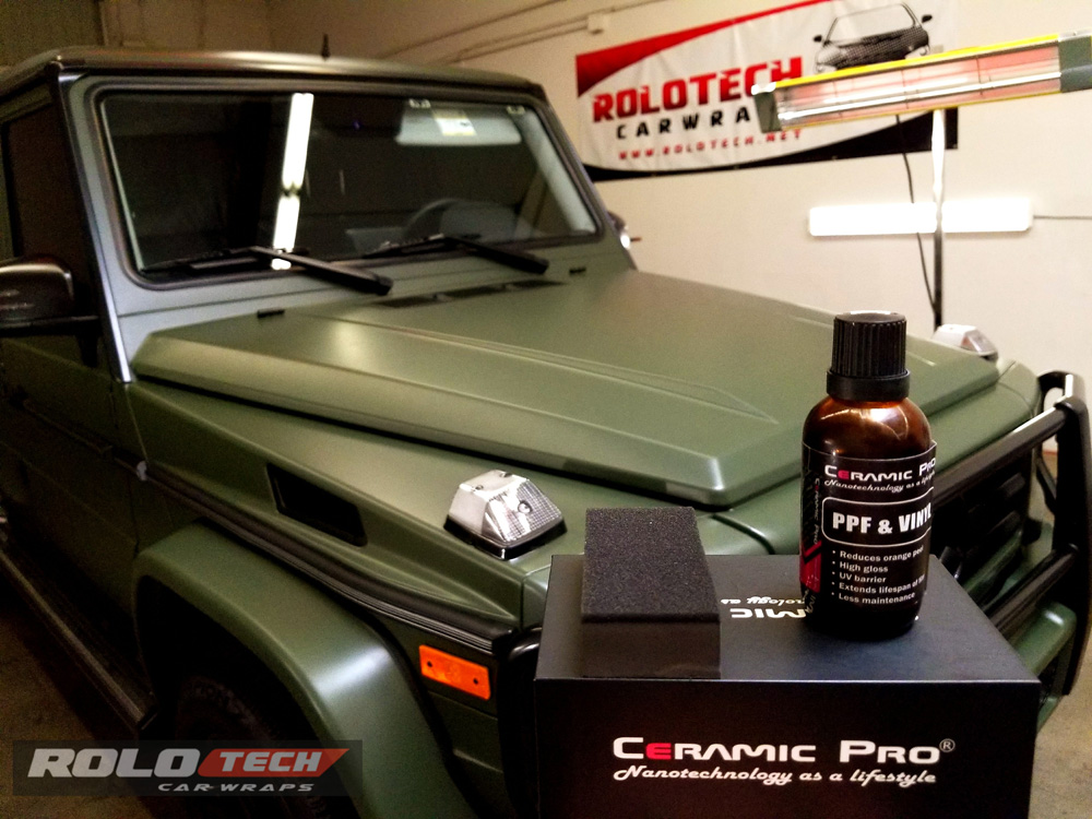 Mercedes G Waon Ceramic Pro - Rolotech